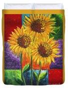 Sonflowers I Duvet Cover