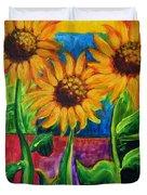 Sonflowers II Duvet Cover