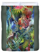 Song Of Borrowed Time Duvet Cover
