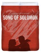 Song Of Solomon Books Of The Bible Series Old Testament Minimal Poster Art Number 22 Duvet Cover