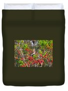 Song Of The Anhinga Duvet Cover