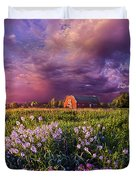 Songs Of Days Gone By Duvet Cover