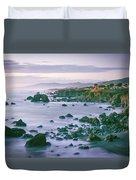 Sonoma Coast Shoreline Duvet Cover