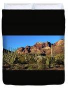 Sonoran Cacti Everywhere Duvet Cover