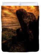 Sonoran Desert Early Morning Duvet Cover