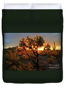 Sonoran Desert Sunrise 2 Duvet Cover