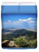 Sonoran Hillside Lookout Duvet Cover