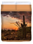 Sonoran Summer  Duvet Cover