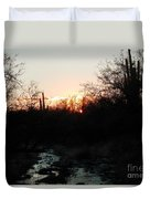Sonoran Sundown Duvet Cover