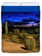 Sonoran Twilight Duvet Cover