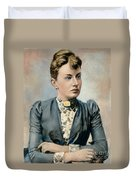 Sonya Kovalevsky (1850-1891) Duvet Cover