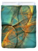 Soothing Blue Duvet Cover