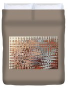 Sophisticated - Abstract Art Duvet Cover