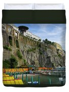 Sorrento Beach Duvet Cover