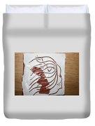 Sorrow - Tile Duvet Cover