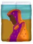 Sorrowful Mother Of The Past And Present Duvet Cover