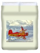 Soucy In Flight Duvet Cover