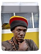 Just A Soul Brother Duvet Cover