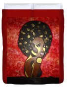 Soul Sista Number Five Duvet Cover