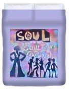 Soul Train 1 Duvet Cover