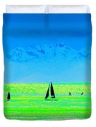 Sound Sailin Duvet Cover