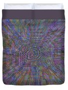 Sound Waves Duvet Cover
