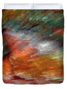 Sounds Of Thunder Abstract Duvet Cover