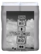 South 811 Duvet Cover