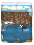 South Africa Cape Town   Oct Duvet Cover