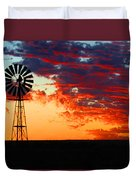 South African Sunrise Duvet Cover