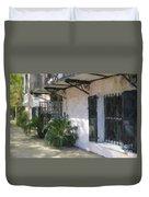 South Battery Sidewalk Duvet Cover