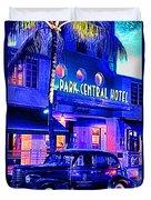 South Beach Hotel Duvet Cover