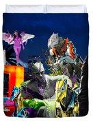 South Beach Duvet Cover by Jean raphael Fischer