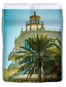 South Beach Vibes Duvet Cover
