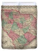 South Carolina Duvet Cover