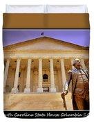 South Carolina State House Columbia Sc Duvet Cover