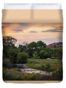 South Dakota Duvet Cover