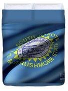 South Dakota State Flag Duvet Cover