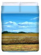 South Dakota Summer Duvet Cover