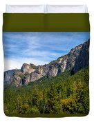 South End Of Half Dome Duvet Cover