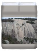 South Face - Stone Mountain Duvet Cover