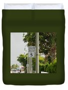South  Florida 5 Duvet Cover