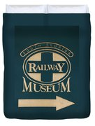 South Florida Railway Museum Duvet Cover