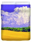 South Forty Duvet Cover