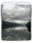South Island Inlet Duvet Cover