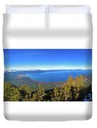 South Lake Tahoe Duvet Cover