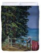 South Lake Tahoe Summer Duvet Cover