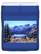 South Lake Duvet Cover