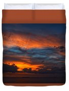 South Pacific Sunset Duvet Cover