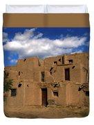 South Pueblo Taos Duvet Cover